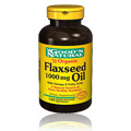 Flaxseed Oil, Linseed, 1000mg -