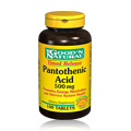 Pantothenic Acid 500mg -