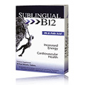 Sublingual B12 -