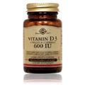 Vitamin D3 600 IU Cholecalciferaol -