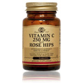 Vitamin C 250 mg with Rose Hips -