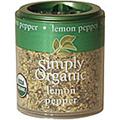 Simply Organic Lemon Pepper -