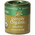 Simply Organic Poultry Seasoning -