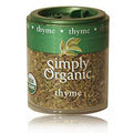 Simply Organic Thyme Leaf Whole