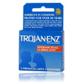 Trojan ENZ Spermicidal Condoms