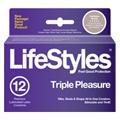 Lifestyles Triple Pleasure