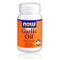 Garlic Oil 1500mg 3X