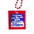 Beads Condom 'Si tu crees que me veo bien…' -