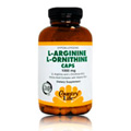 LArginine/LOrnithine Caps 1000mg