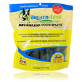 Breath-Less Brushless Toothpaste -