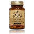 Folate 400 mcg as Metafolin -