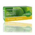 Regular Tampons with Applic -