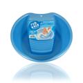 Inomata Rub Wash 3116 Plastic Laundry Pail Blue