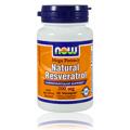 Natural Resveratrol Mega Potency 200 mg