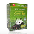 Whole Leaf Organic Green Tea -