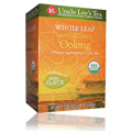 Whole Leaf Organic Oolong Tea -