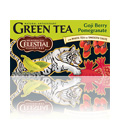 Goji Berry Pomergranate Green Tea -