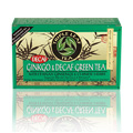 Ginkgo & Decaf Green Tea with Ginseng & Chinese Herbs -