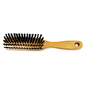 Hairbrush Pure Bristle Wood Handle -