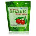 Soothing Organic Throat Drops Refreshing Cherry -