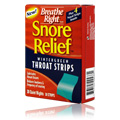 Snore Relief Wintergreen Throat Strips -
