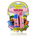Sidewalk Chalk Bubblegum Lip Balm Blueberry & Strawberry -