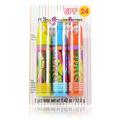 Lip Smacker SPF 24 Lemon Lime Rush, Power Punch & Cool Strawberry Orange -