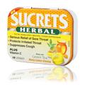 Sucrets Herbal Honey Lemon Ginseng -