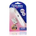Light Up Tweezers with Magnifier -