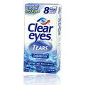 Clear Eyes Tears Liquid Gel -