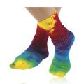 Socks Tie Dye Lite Crew Singles 10-13 -
