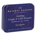 Essential Oil Patches Eucalyptus, Coughs & Cold Relief  -