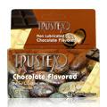 Trustex Non Lubricated Chocolate Flavored Condom -