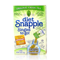 Diet Snapple On The Go Original Green Tea -