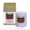 Serenity Purple Pillar Candle -