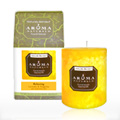 Relaxing Tangerine Pillar Candle -