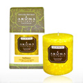 Ambiance Lemon Pillar Candle -