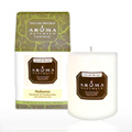 Meditation White Pillar Candle -