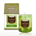 Vitality Grass Green Pillar Candle -