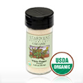 White Pepper Pwd Organic Jar -
