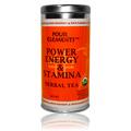 Power, Energy, & Stamina Tea Blend Herbal Tea Tin -