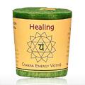 Candle, Votive, Positive Energy, Blue -