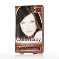 ColorEazy Permanent Cream Hair Color 2 Dark Brown -