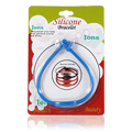 Silicone Ion Bracelet Blue -
