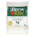 Number 4 Cone Style Coffee Filters -