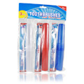 Soft Toothbrushes with Travel Cases -