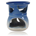 Oil Burner Blue & White -