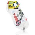 Spongebob Squarepants White Socks Running -
