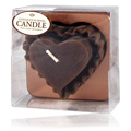 Chocolate Heart Candle -
