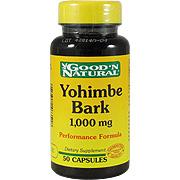 Yohimbe Bark 1000mg -